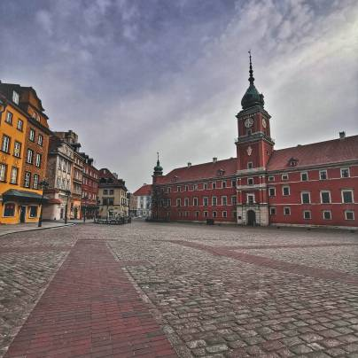 Warszawa w oknie